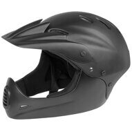 Шлем 5-731140 Freeride/DH/BMX FullFace ABS hard shell суперпрочн. 17отв. 54-58см (M) черный матовый M-WAVE NEW