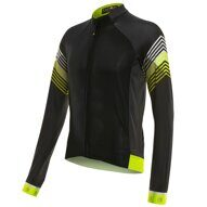 Велокуртка 12-678 Firenze J-730-7-LW Black Men Active LS Thermal Jersey материал Microfleece Warm Breathable с длин. молнией. черная M FUNKIER NEW