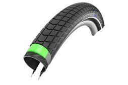 Покрышка Schwalbe BIG BEN PLUS Green Guard Perf/SnakeSkin 55-406 20x2.15B/B HS349 67EPI 26B 11101122